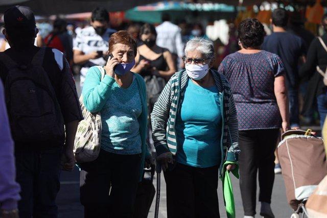 Coronavirus.- Chile registra casi 1.200 nuevos casos y se aproxima a los 350.000