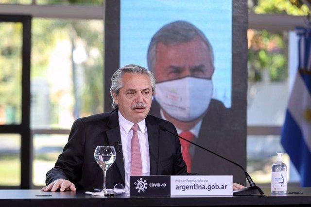"""El presidente de Argentina enfatiza su """"compromiso"""" con la población más vulnera"""