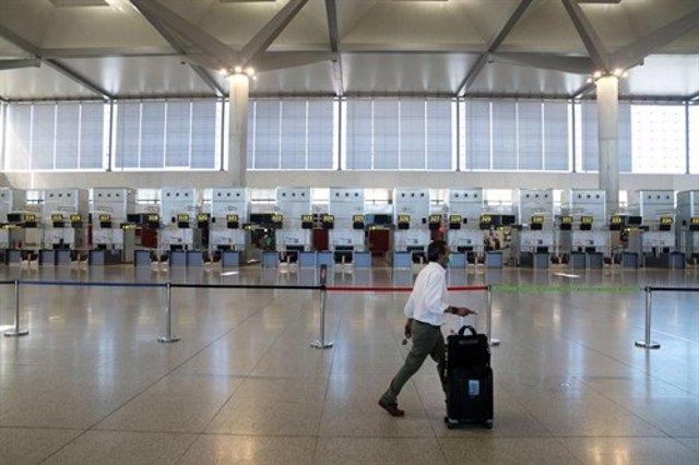Reapertura de fronteras en el Aeropuerto de Málaga