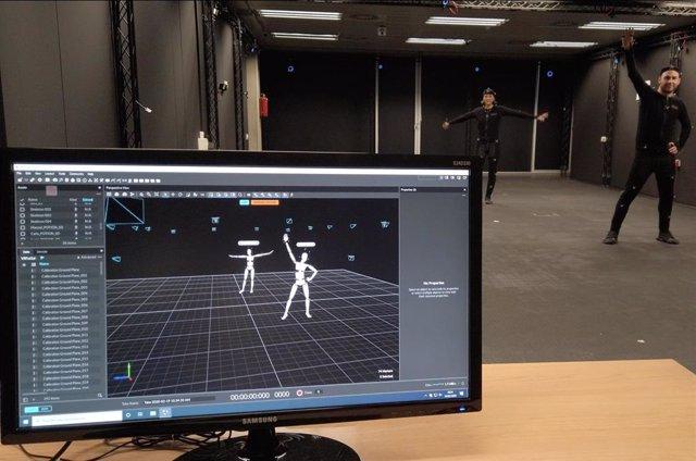 """La Universitat Politécnica de València (UPV) cuenta con una sala """"única en España"""" para generar avatares 3D y entornos virtuales que ayudan a detectar el autismo."""