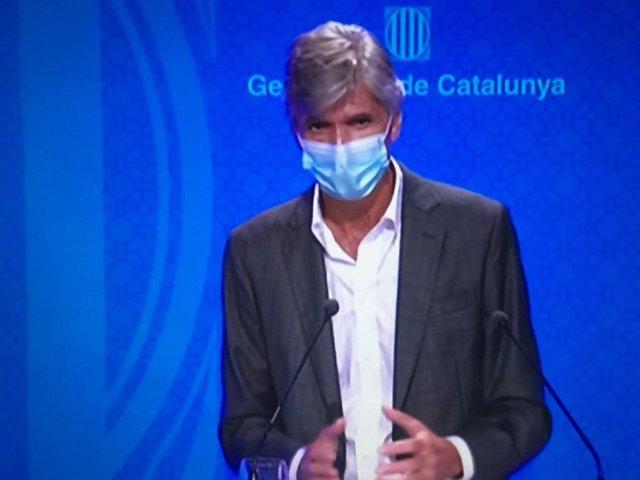 El secretario de Salud Pública, Josep Maria Argimon