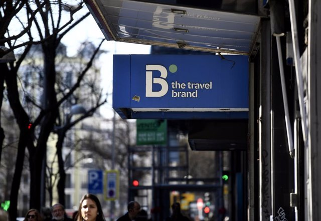 Logo de la agencia de viajes B the Travel Brand perteneciente al grupo Barceló