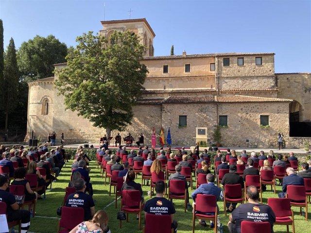 Homenaje de Castilla y León a las víctimas y afectados por la COVID-19.