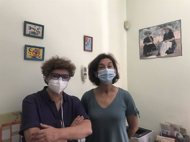 Trabajadoras sociales del Hospital Virgen del Rocío