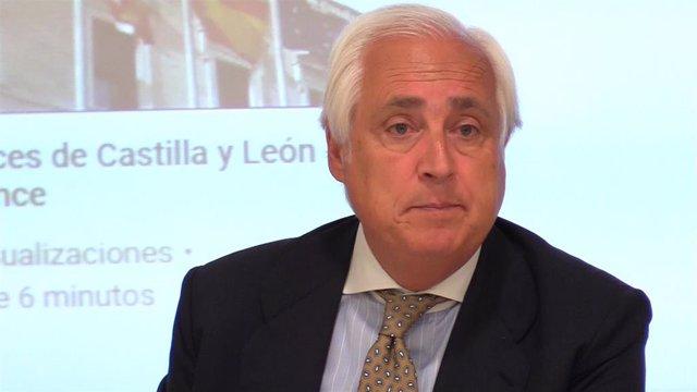 José Luis Concepción, presidente del Tribunal Superior de Justicia de Castilla y León (TSJCyL)