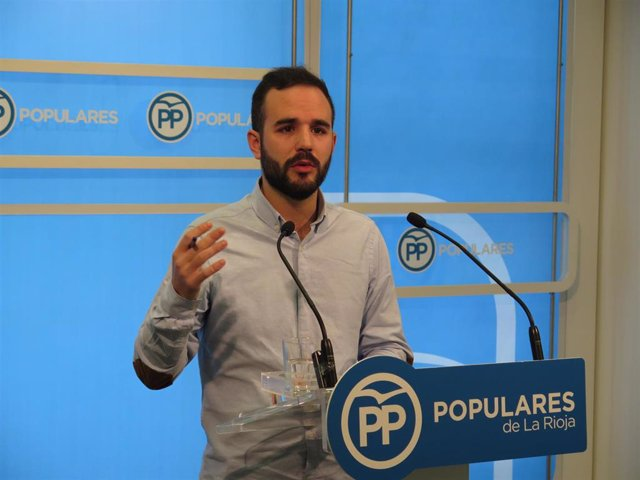 El portavoz del PP en Villamediana en una foto de archivo