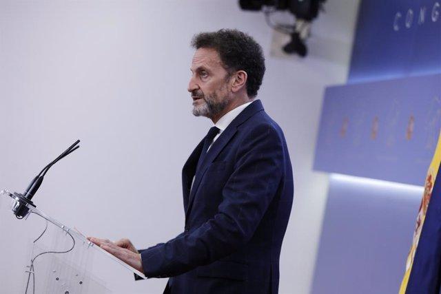 El portaveu adjunt de Cs al Congrés dels Diputats, Edmundo Bal. Madrid (Espanya), 22 de juliol del 2020.