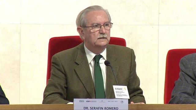 El presidente de la Organización Médica Colegial (OMC), Serafín Romero.