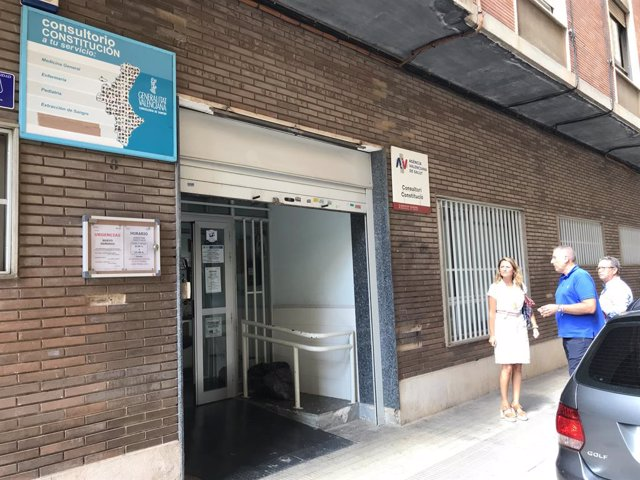 Centre de salut de la plaça de la Constitució