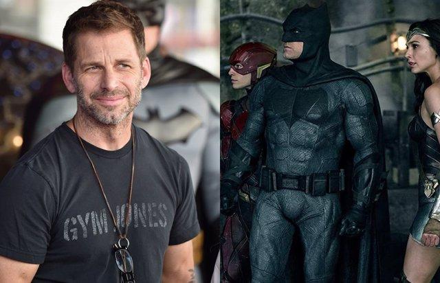 Zack Snyder y su Liga de la Justicia