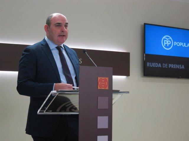 Foto de archivo de Juan Carlos Gracia Suso, diputado autonómico del PP.