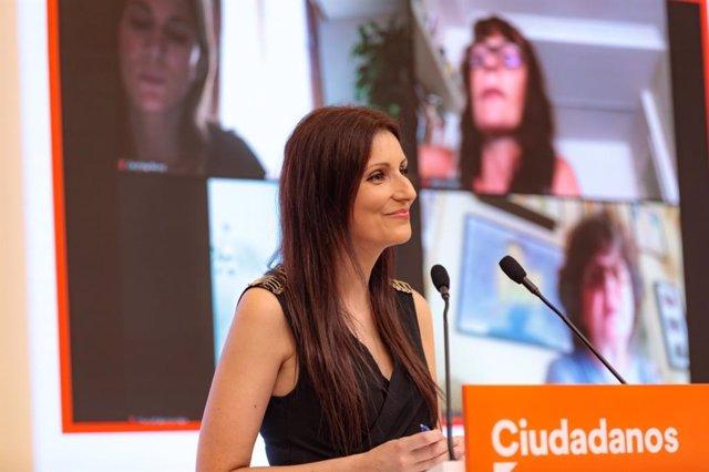 La portavoz de Ciudadanos, Lorena Roldán