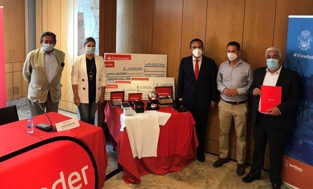 Presentación Trofeo Bolos Campeones Banco Santander