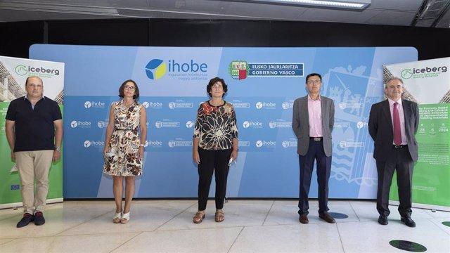 Representantes de organizaciones vascas que participan en proyecto Iceberg