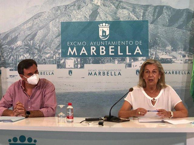 Presentación del Plan Málaga en el Ayuntamiento de Marbella