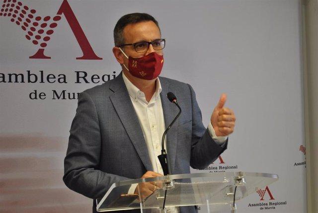 El secretario general del PSR-PSOE, Diego Conesa