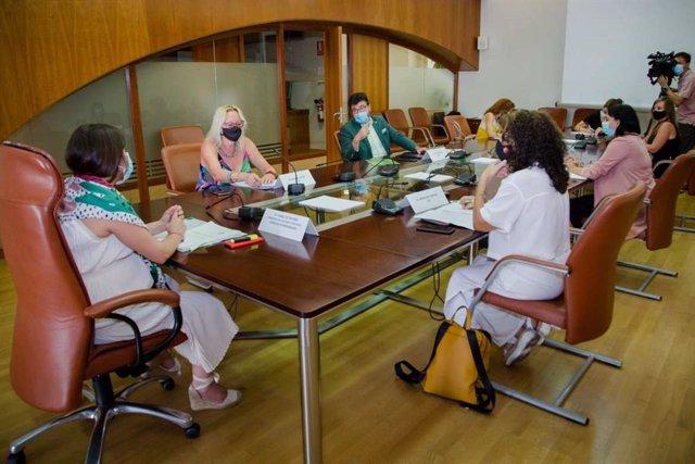Constitución de la Mesa sobre Igualdad de Género en Extremadura
