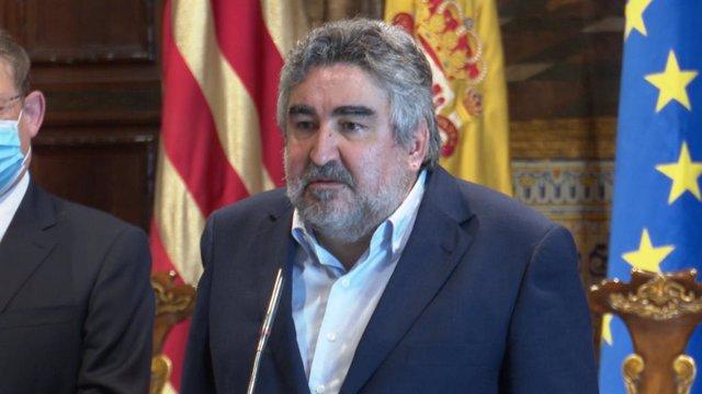 El ministro de Cultura y Deporte, José Manuel Rodríguez Uribes