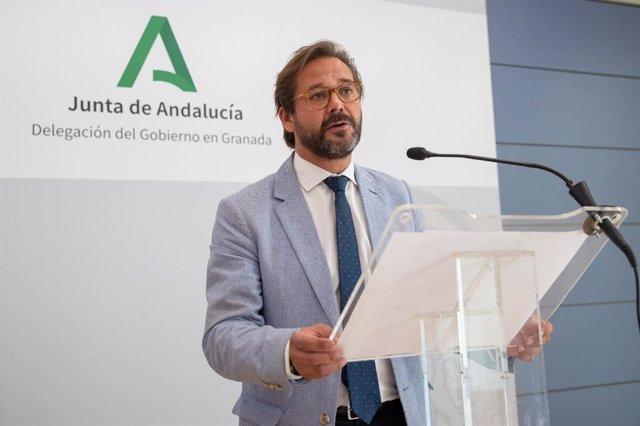 El delegado de Cultura y Patrimonio Histórico de la Junta en Granada, Antonio Granados.