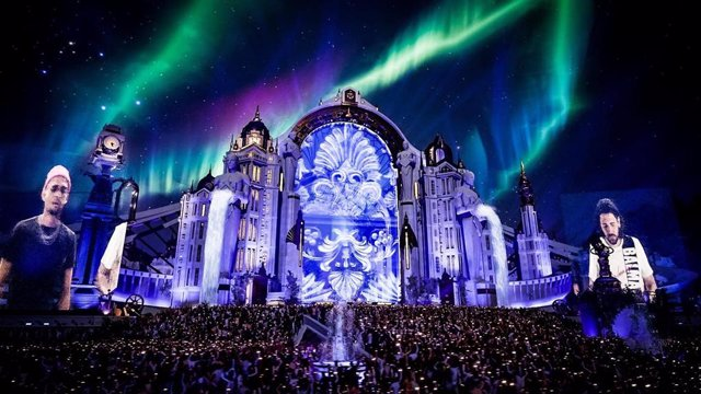 Más de 1 millón de espectadores vieron el festival Tomorrowland, celebrado de manera virtual por el Covid-19