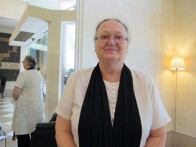La cooperante Anna Ferrer, presidenta de la Fundación Vicente Ferrer