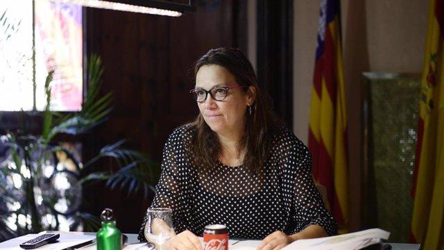La presidenta del Consell de Mallorca, Catalina Cladera