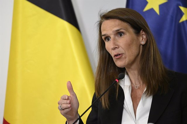 La primera ministra de Bèlgica, Sophie Wilmès