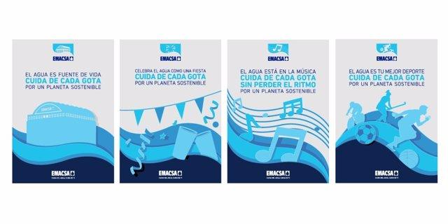 Campaña de Emacsa para fomentar el uso responsable del agua