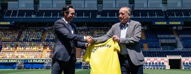 """Fútbol.- Emery: """"Venir al Villarreal me llena, es un reto darle prestigio"""""""