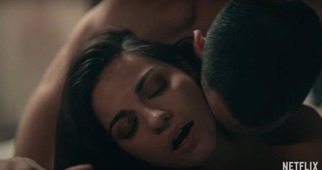 Maite Perroni Y Alejandro Speitzer En Oscuro Deseo, La Serie De Netflix
