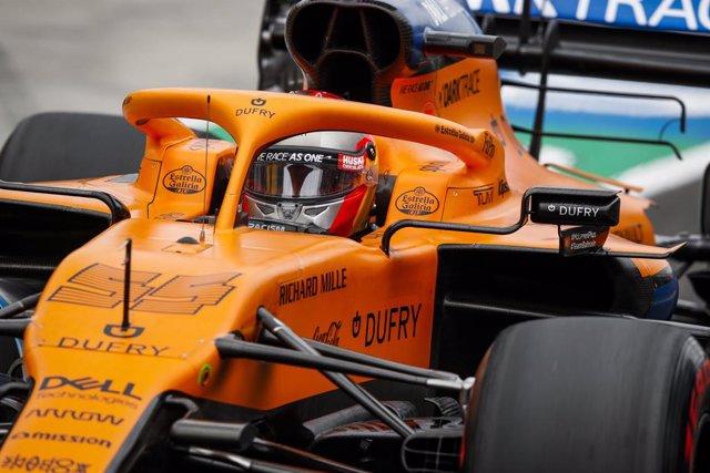 "Fórmula 1/GP Gran Bretaña.- Sainz: ""Me siento recargado y listo para otro 'tripl"