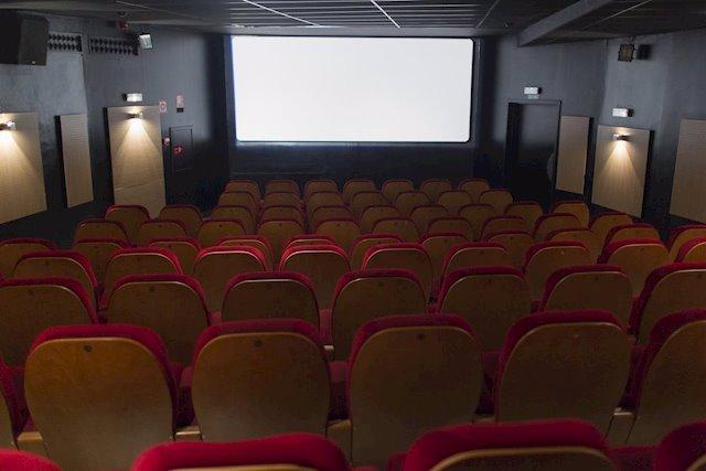 Imatge d'arxiu d'una sala de cinema.