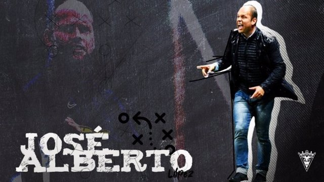 Fútbol.- José Alberto, nuevo entrenador del CD Mirandés esta temporada
