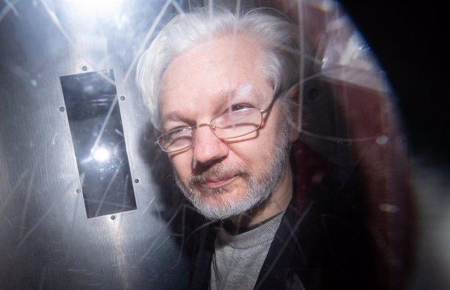 Wikileaks.- Assange participa por videoconferencia en una vista sobre la petició