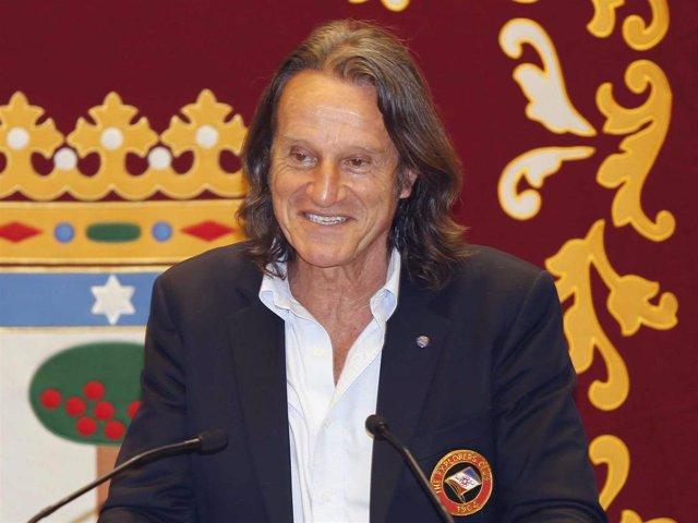 Kitín Muñoz, embajador de buena voluntad de la Unesco, en un evento celebrado en la capital para recuperar la normalidad post Covid