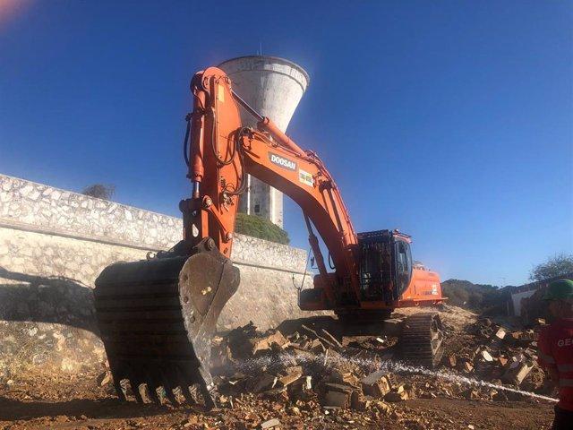 Riaumbría inicia las obras del residencial William Martin en Punta Umbría, en una imagen de archivo.