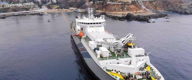 Economía.- Google desplegará el cable submarino Grace Hopper, que unirá EEUU, Re