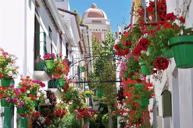 Una calle de Estepona