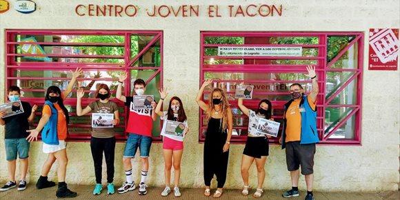 4. Los centros jóvenes de Logroño entregan premios de 'Os retamos' y 'Logroño tiene talento', hechos en el confinamiento