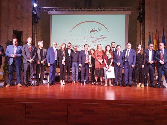 Entrega de los Premios San Pedro de Alcántara en su edición de 2019