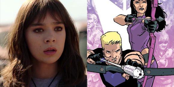 1. Hailee Steinfeld vuelve a sonar como Kate Bishop en Hawkeye, la serie de Ojo de Halcón de Disney+