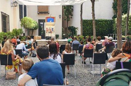 El teatro de títeres 'Juan y las habas mágicas' llega este sábado al Jardín del Museo Picasso Málaga