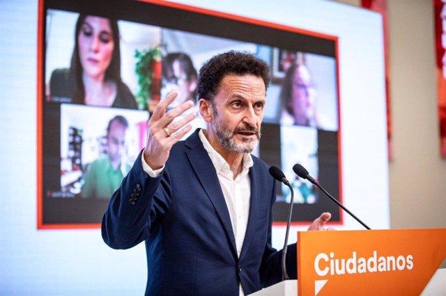 El portaveu adjunt de Ciutadans al Congrés dels Diputats, Edmundo Bal.