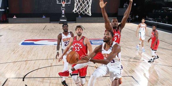 5. Los Suns de un gran Ricky se imponen a los Raptors de Gasol e Ibaka