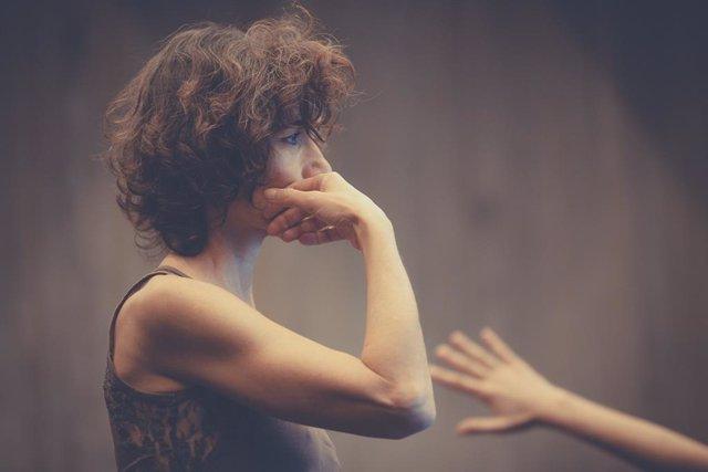 La bailarina Christine Cloux