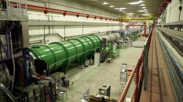 El experimento NA62 en el área norte del CERN