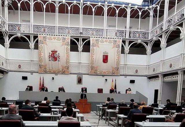 Nota+Foto+Sonido/ El Gobierno Regional Lleva A La Asamble A La Modificación De Los Presupuestos Para Incorporar El Fondo Covid 19