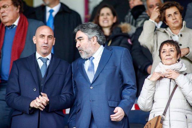 Fútbol.- El TSJM suspende la resolución del TAD sobre las elecciones a la RFEF y