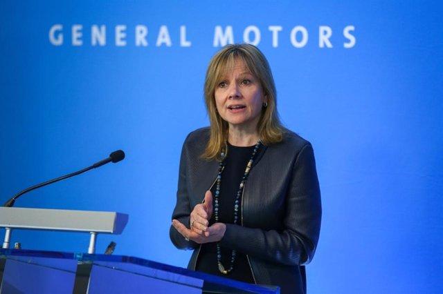 Mary Barra, presidenta y consejera delegada de General Motors.