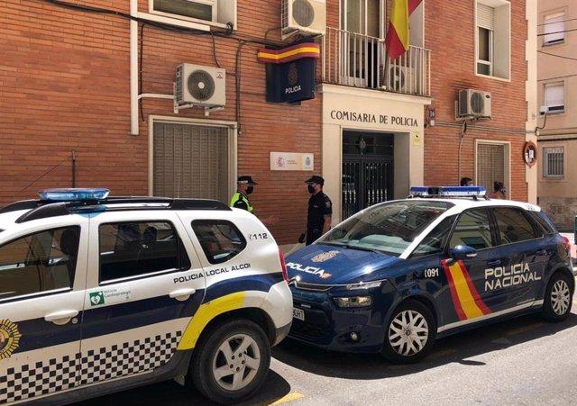 Alicante.- Sucesos.- Cuatro detenidos en Alcoi tras descubrir un cultivo de mari